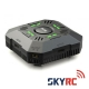 SKYRC E4Q 4×50W 4x5A DC 2-4S LED Smart Battery Balance Charger with XT60 Input