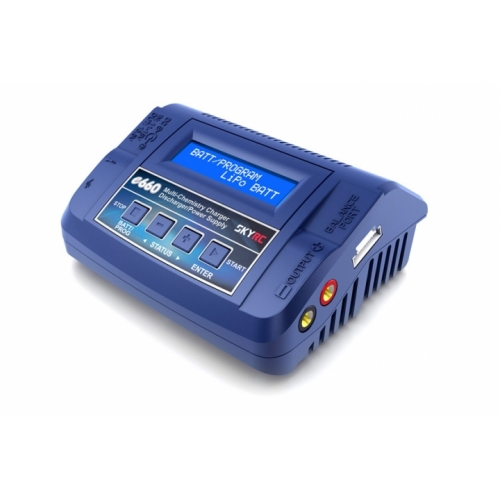 SkyRC e660 60W AC/DC Balance Charger / Discharger / Power Supply